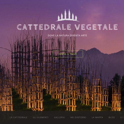 la Cattedrale Vegetale - Coblanco - progettazione sito web